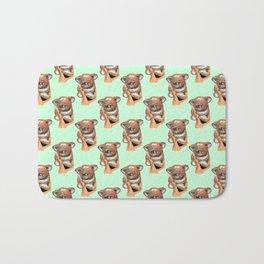 kawaii koala pattern Bath Mat