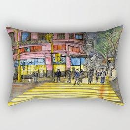 Lights on  Rectangular Pillow