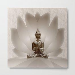 Buddha 13 Metal Print
