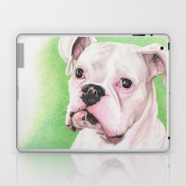 The White Boxer Laptop & iPad Skin