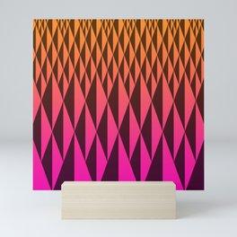 Foreign Wood at Dawn Mini Art Print