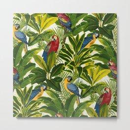 Cool Parrots Metal Print