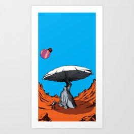 Marooned! Art Print