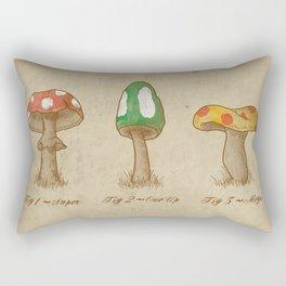 Mario Mycology Rectangular Pillow