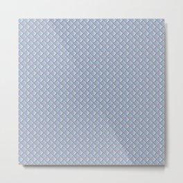 Plastic Tiles Metal Print