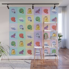 The Sweet Size Difference Wall Mural