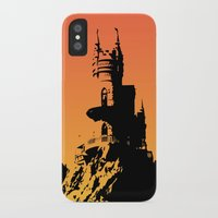 castle iPhone & iPod Cases featuring Castle by Julia Badeeva