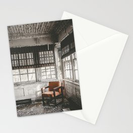 Abandoned School Lounge Stationery Cards