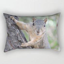 Who You Lookin' At? Rectangular Pillow