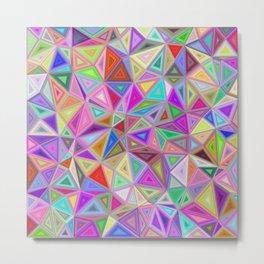 Triangular happiness Metal Print