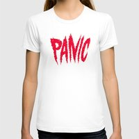 panic at the disco T-shirts featuring PANIC by Chris Piascik