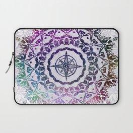 Destination Mandala Bohemian Hippie Zen Indian Spiritual Yoga Mantra Meditation Laptop Sleeve