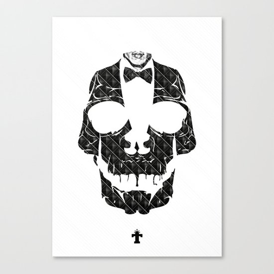 TML SKULLIFASHION Canvas Print