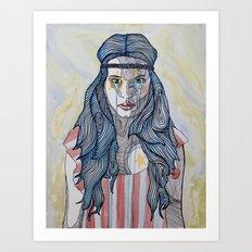 American Rocker Art Print