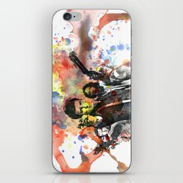 Fire Fly Poster iPhone Skin