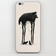 Standing Tall iPhone Skin