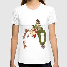 Medusa and the Mermaid (Darrell Merrill) T-shirt