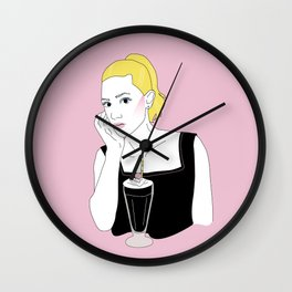 Betty Cooper Wall Clock