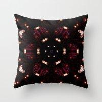 faith Throw Pillows featuring Faith by La Señora