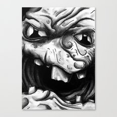 Rogues Gallery - Clayface Canvas Print