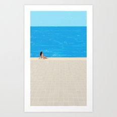 beach-4 Art Print