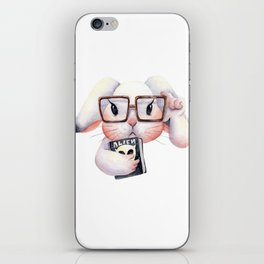 Grumpy BunBun - The Professor iPhone Skin