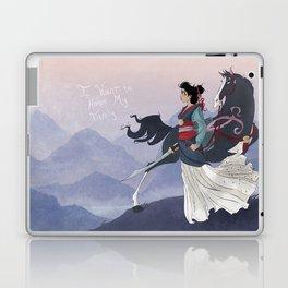 Mulan Laptop & iPad Skin