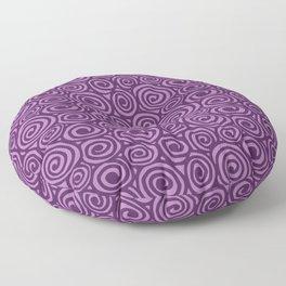 Spiral planet Floor Pillow