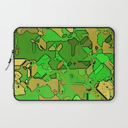 Abstract segmented 2 Laptop Sleeve