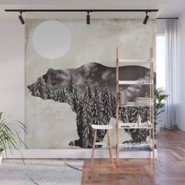 Going Wild Bear Wall Mural