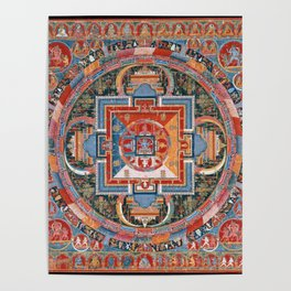 Mandala of Jnanadakini Poster