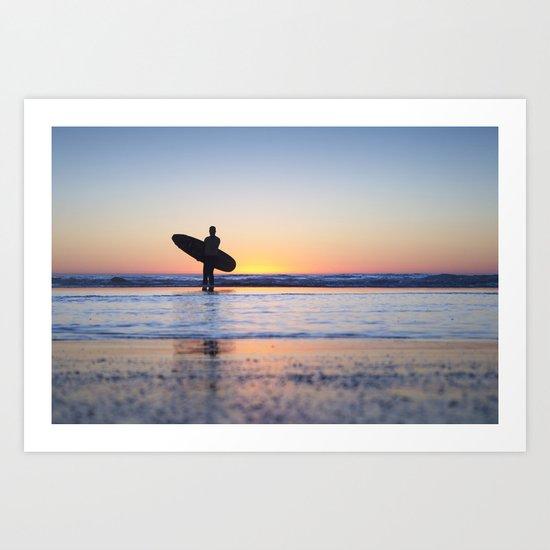 Surfs Up... Brah Art Print