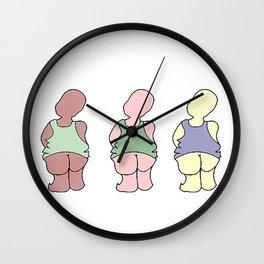 United Babies Wall Clock