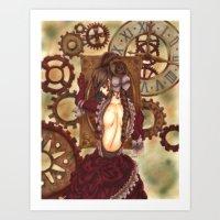gears of war Art Prints featuring Gears by MissKerrieJ