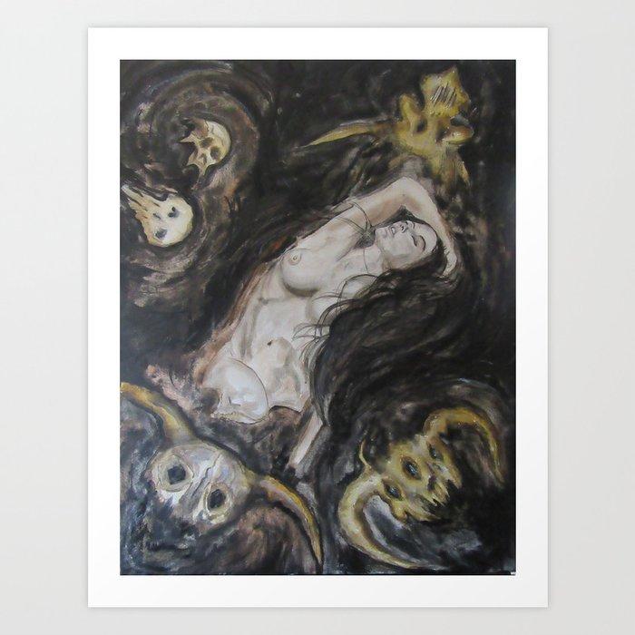 Black Broth Art Print