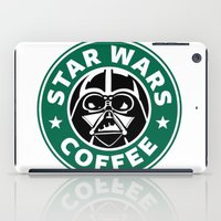 starwars iPad Cases featuring StarWars Coffee by Unicity