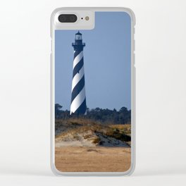 Cape Hatteras Lighthouse Photograph Clear iPhone Case