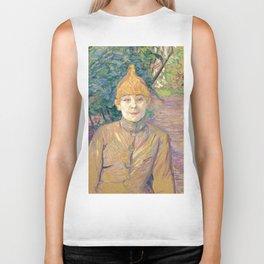 """Henri de Toulouse-Lautrec """"The Streetwalker (Also Known As Casque D'Or)"""" Biker Tank"""
