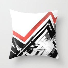Static 1 Throw Pillow