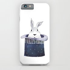 Mr. Rabbit and the Mad Hatter hat iPhone 6s Slim Case