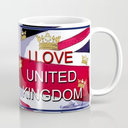 Monsieur Jac & Lily love UK  Coffee Mug
