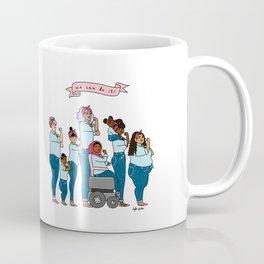 Intersectional Rosie the Riveter Coffee Mug