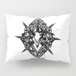 Deathshead Diamond Pillow Sham
