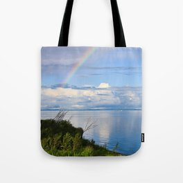 Rainbow Lake Tote Bag
