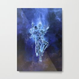 Deep Space Embrace Metal Print