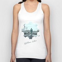 fallout Tank Tops featuring Fallout 4 by jorgeink