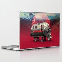 rhino Laptop & iPad Skins featuring Rhino by Ali GULEC