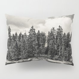 Far Away Clouds Passing By Pillow Sham