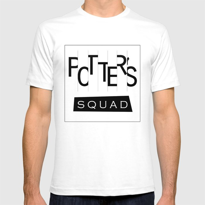 potter's squad T-shirt