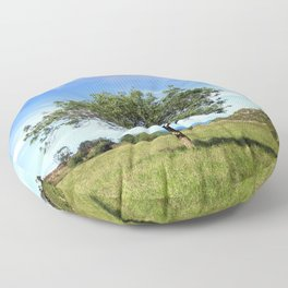 The Lonely Tree Floor Pillow